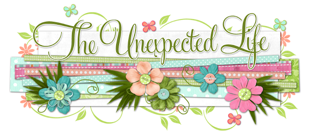 The Unexpected Life Blog Design
