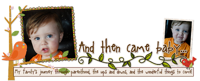 And then came baby Blog Design