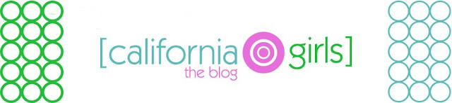 California Girls Blog Design
