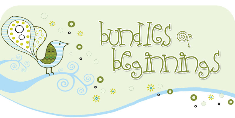 Bundles of Beginnings Blog Design