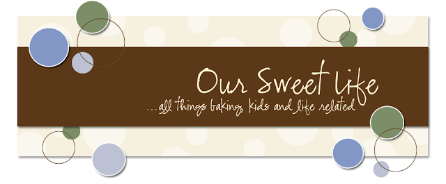 Our Sweet Life Blog Design