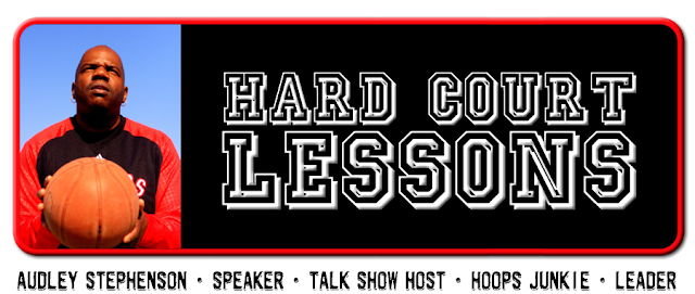 Hard Court Lessons Blog Design