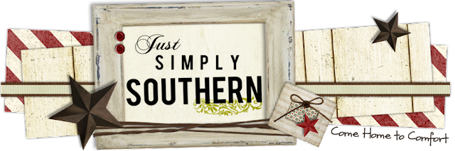 Just Simply Southern Blog Design