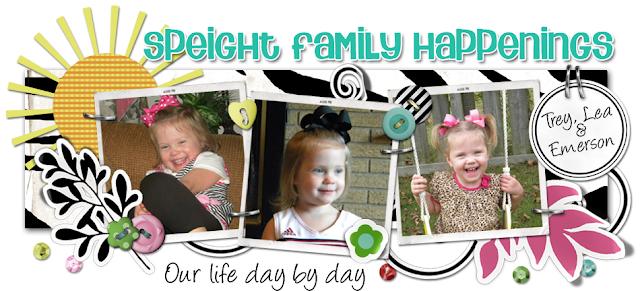 Speight Family Happenings Blog Design