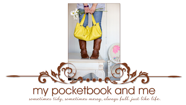 My Pocketbook and Me Blog Design