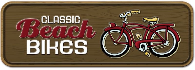 Classic Beach Bikes Blog Design