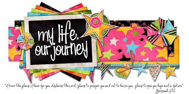 My Life Our Journey Blog Design