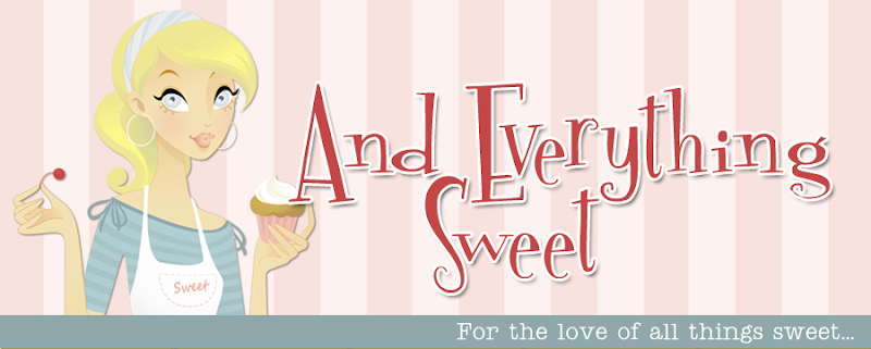 And Everything Sweet Blog Design