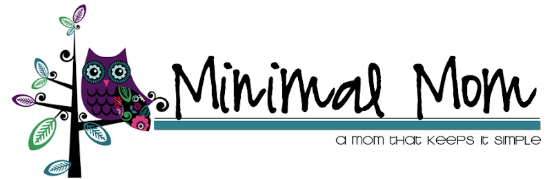 Minimal Mom Blog Design