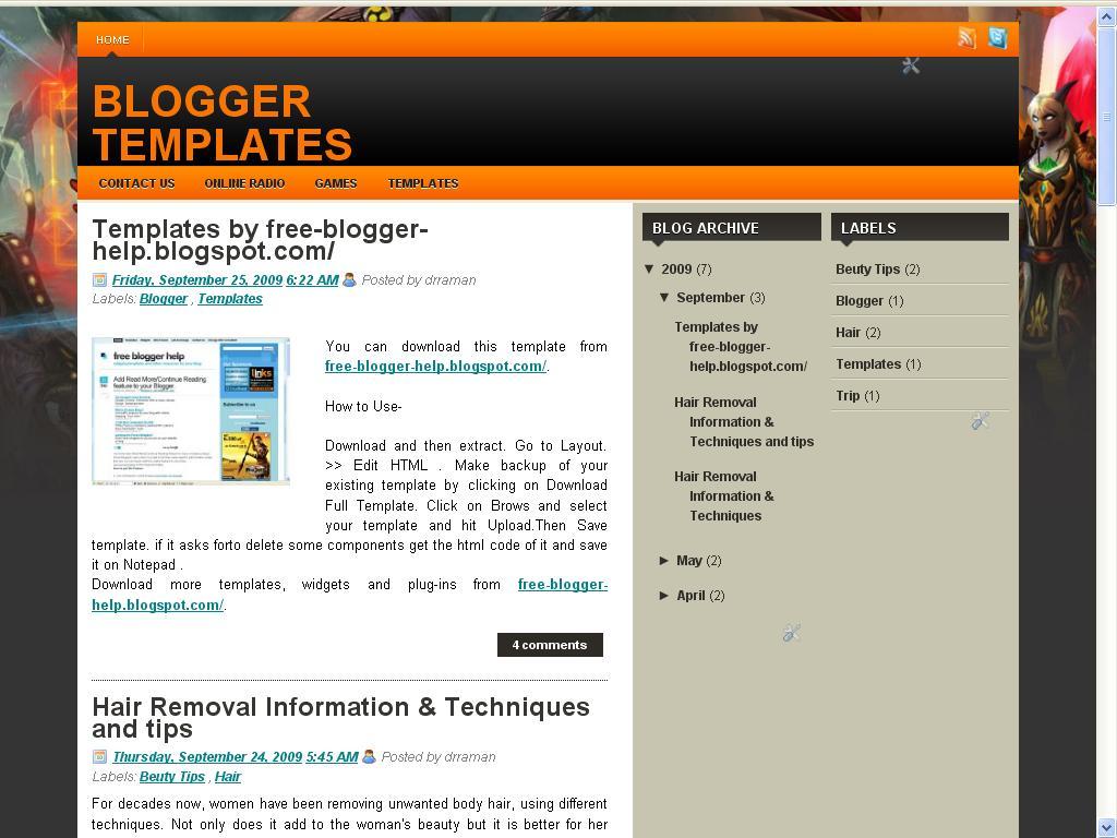 2 Column Bloger Templates Five Elegant 3 column blogger templates ~ Free Blogger Help