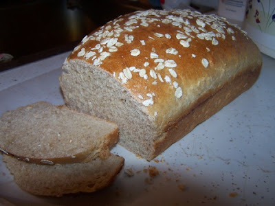 A Cooking Bookworm: Light Oat Bread