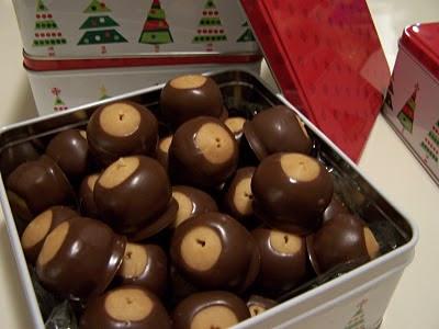 buckeyes aka peanut butter balls