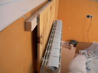 Bricolaje hazlo tu mismo colocar friso de madera - Poner calefaccion en casa ...