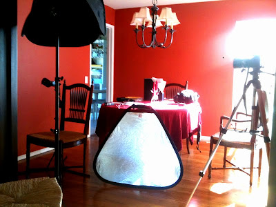 Baby Photography Studio Setup