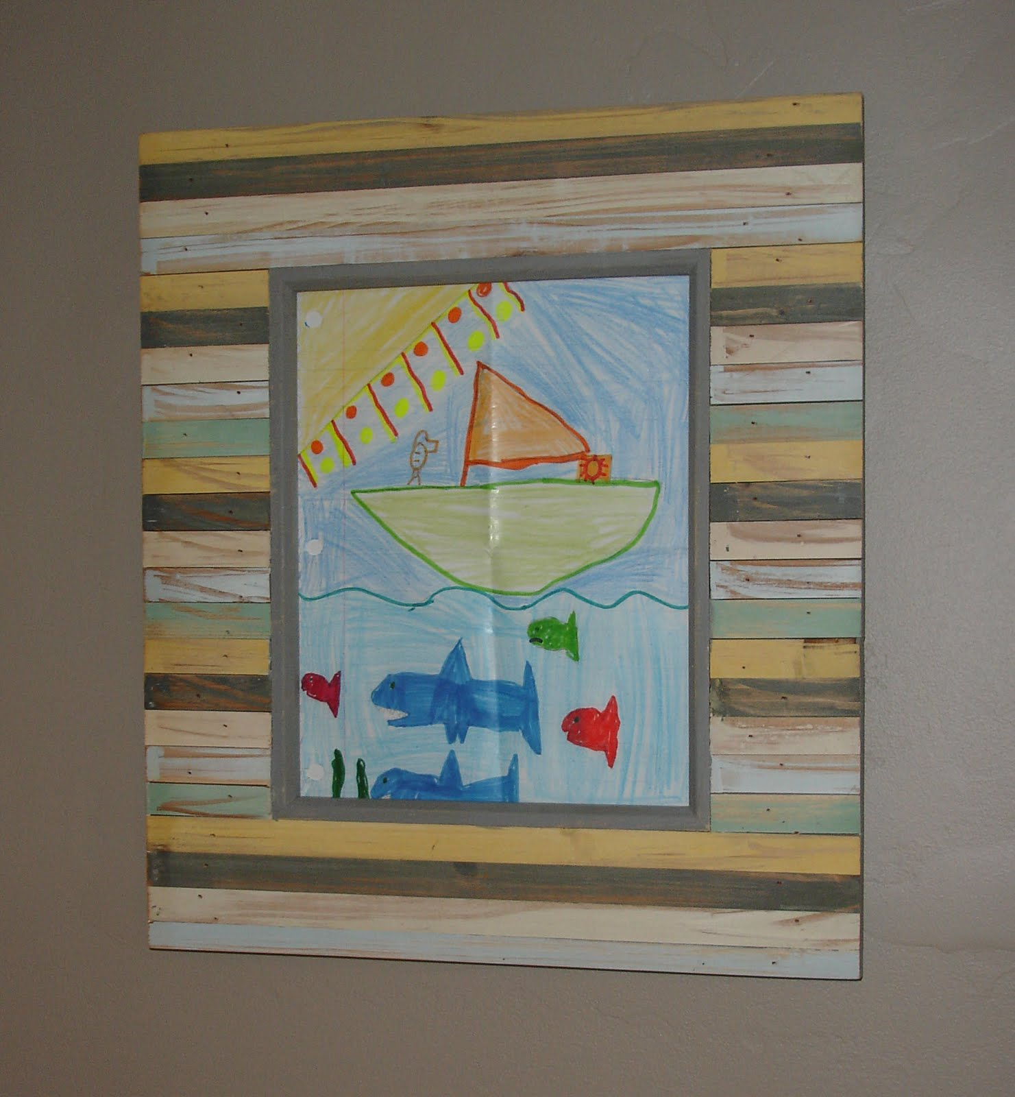 Inexpensive Art loft & cottage: tuesday tip: inexpensive art thanks to the kiddies