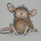 House Mouse on Papercraft Planet