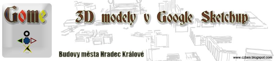 Sketchup3D,Hradec Králové,Virtuální domy,3D domy,modelování strojních součástí,domácí příslušenství