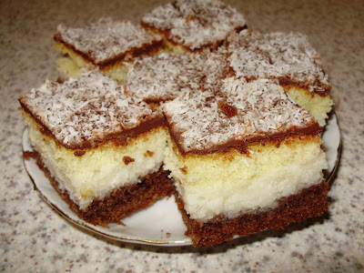 kolač nije potrebno raditi dan ranije jer se može rezati čim se