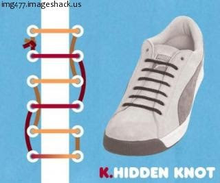 cipőfűzés és cipőfűzési technikák a dagadt boka elkerülésére