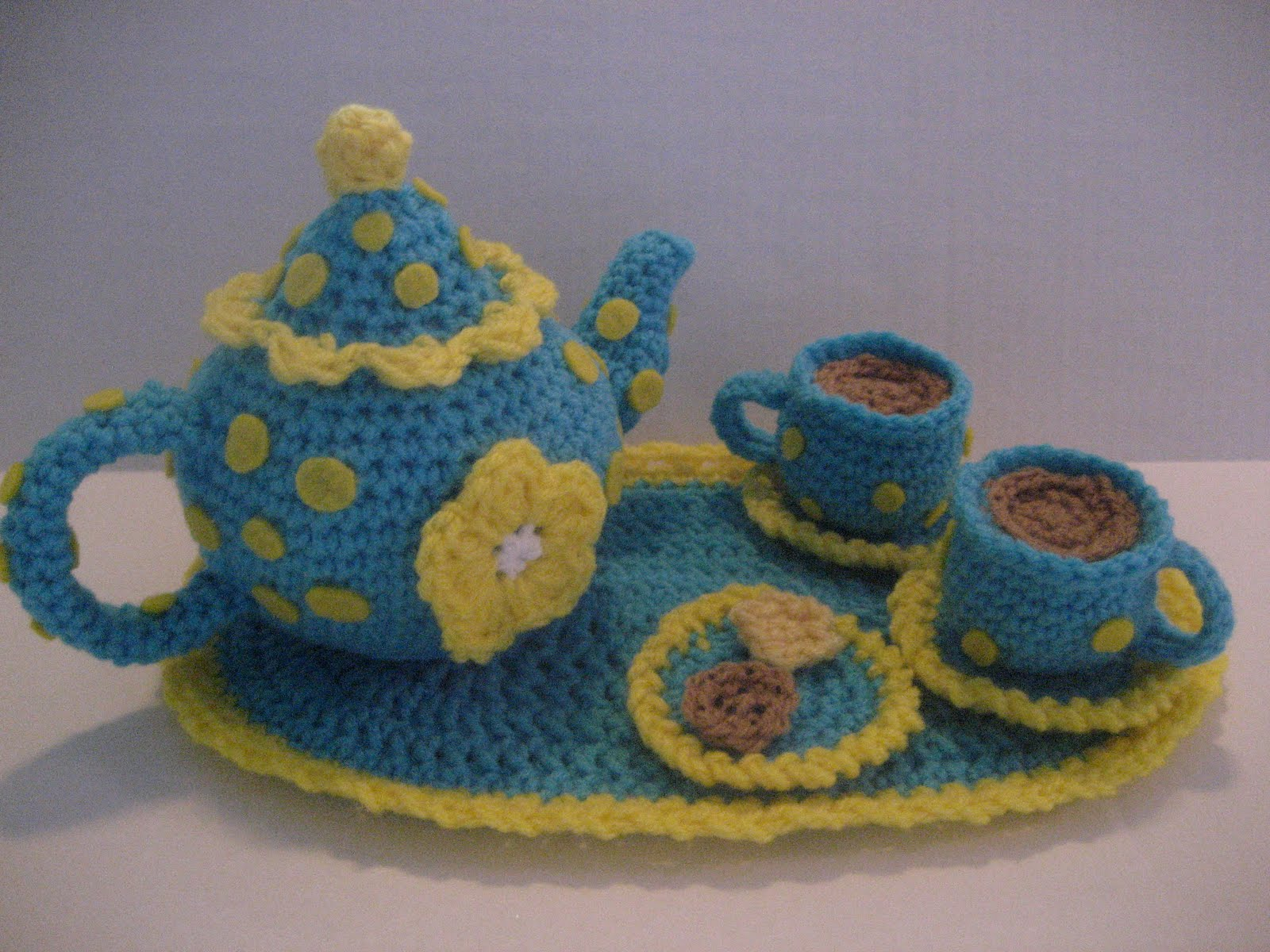 Tea for 2 Crochet tea set - Scribd