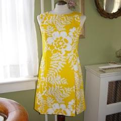 a vintage dress = inspiration
