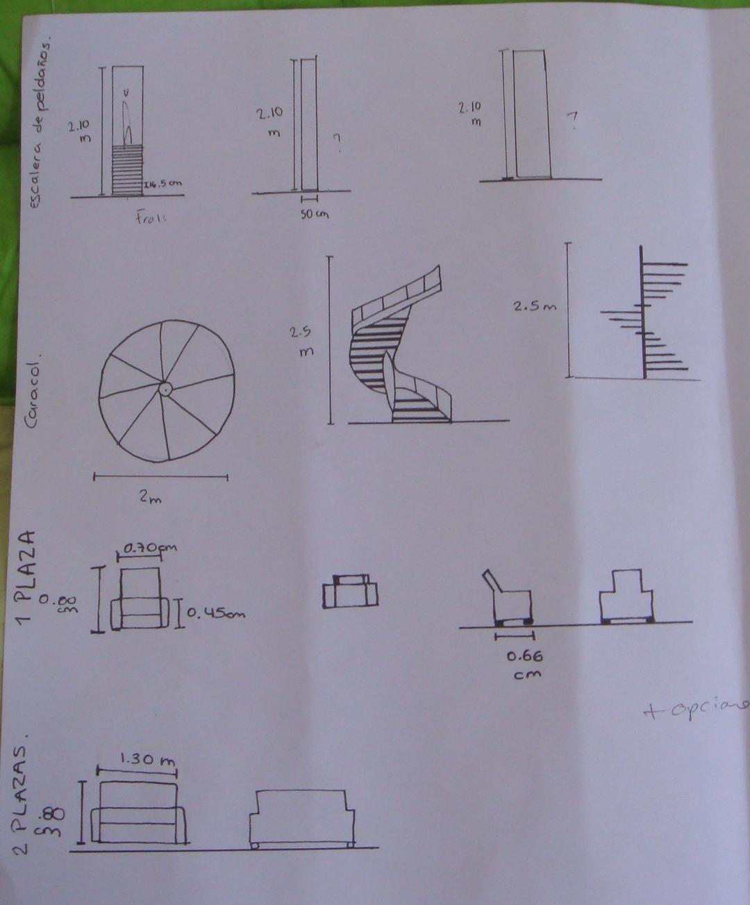 Estefaniaproyectosi estefania for Diferentes tipos de escaleras