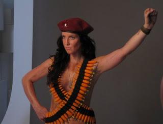 Lydia Guevara nua