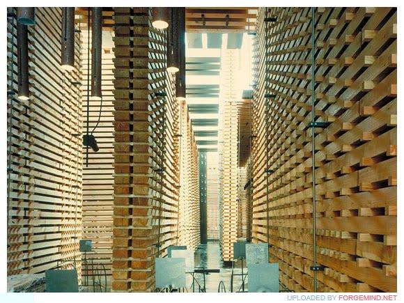 ZUMTHOR:  SWISS PAVILLION, HANOVER EXPO 2000