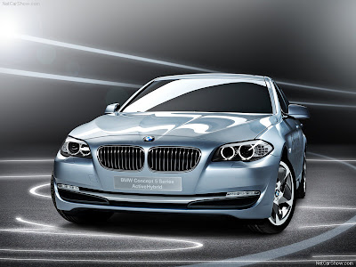 2010 Bmw 5 Series Activehybrid Concept. the 5 Series ActiveHybrid