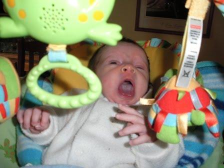 Big big yawn