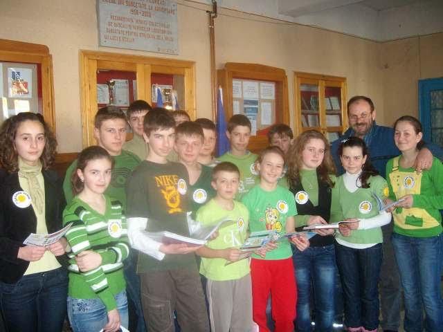 Echipa verde isi prezintă proiectul