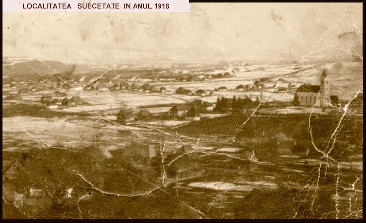 Subcetate în anul 1916