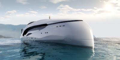 Oculus Yacht exterior