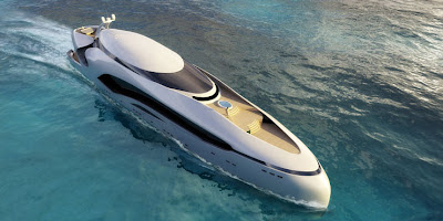 Oculus Yacht - luxurious design