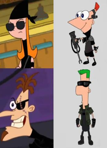 Phineas y Ferb - A Través de la Segunda Dimension