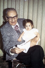 My Great Grandpa Frank with me as a baby