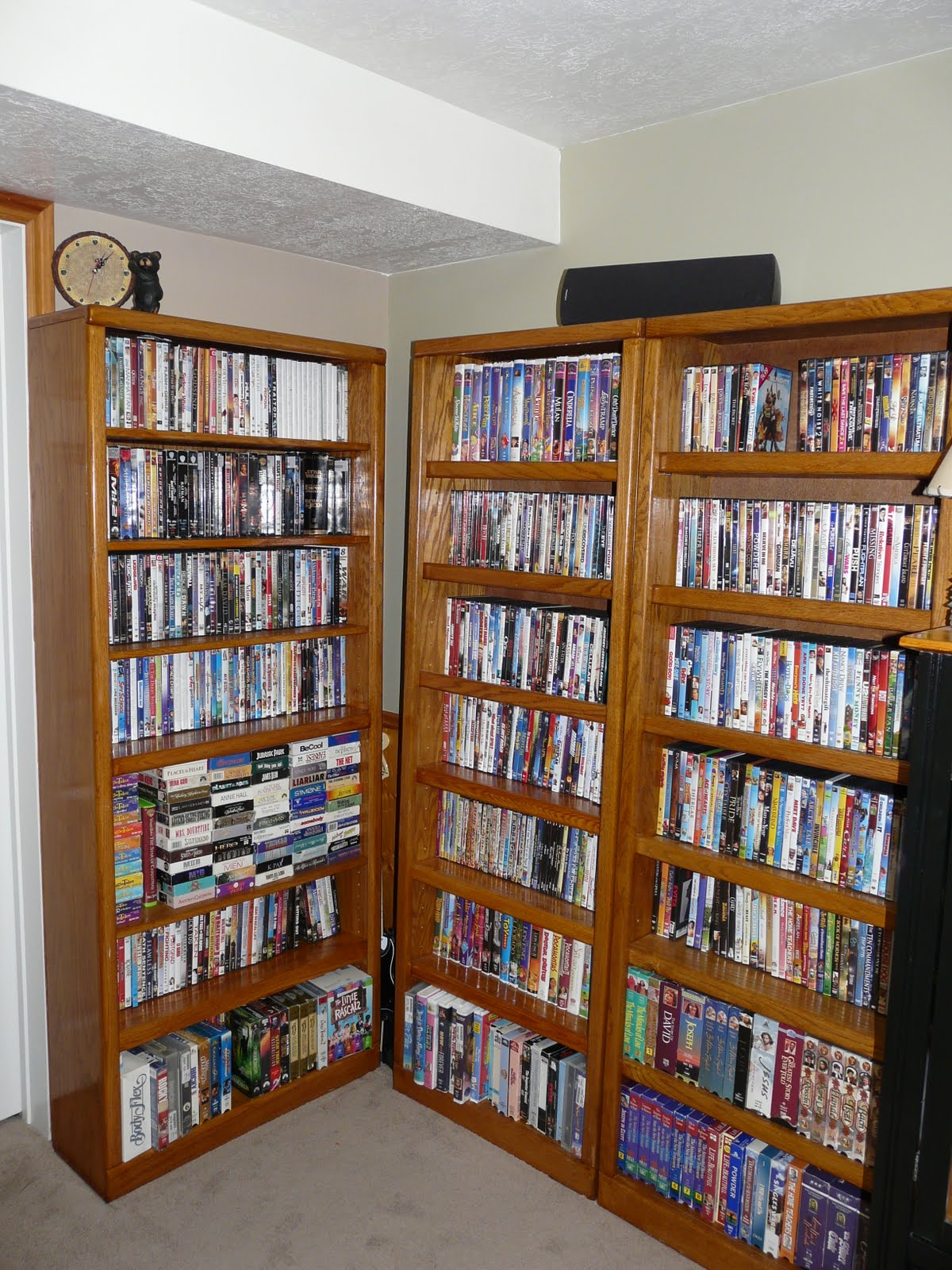 I Have Been Looking For A Bookshelf Few Years Now Two That Are The Same And Was Third To Hold All Our DVDs Videos