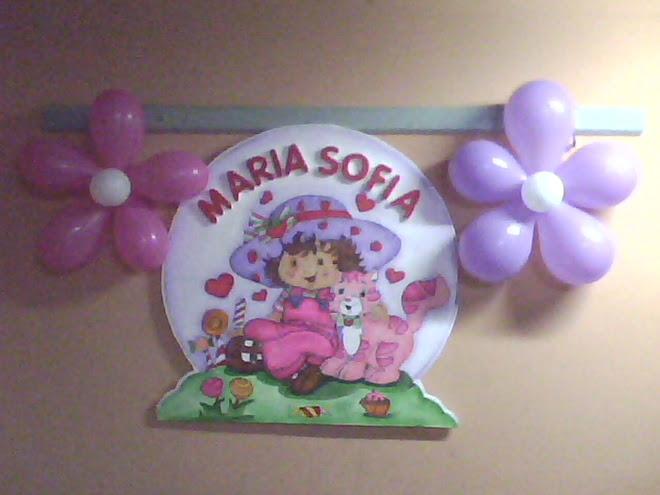 1ER AÑITO DE MARÍA SOFÍA
