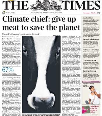 wegetarianizm a globalne ocieplenie klimatu