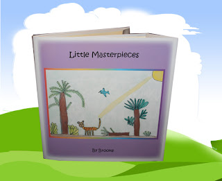 book cover with title Little Masterpieces