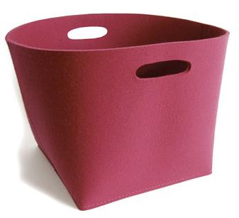 pink felt box