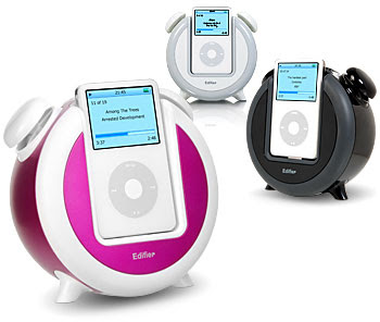 iPos alarm clocks in 3 colors