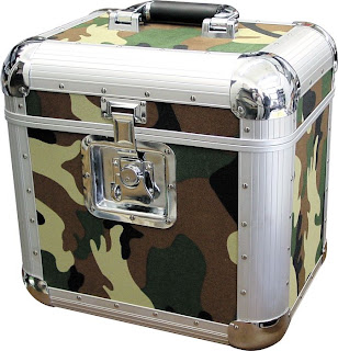 LP carrying case,camouflage pattern