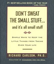 cover of book, Don't Sweat the Small Stuff