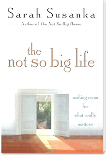 book cover - The Not So Big Life