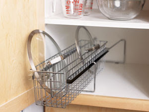 roll-out lid rack
