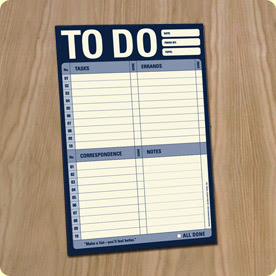 To Do list - blank