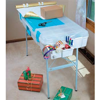 portable gift wrap center