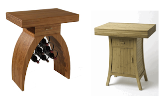 two chopping tables