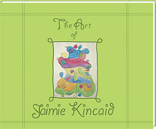 sample cover: book of child's art work